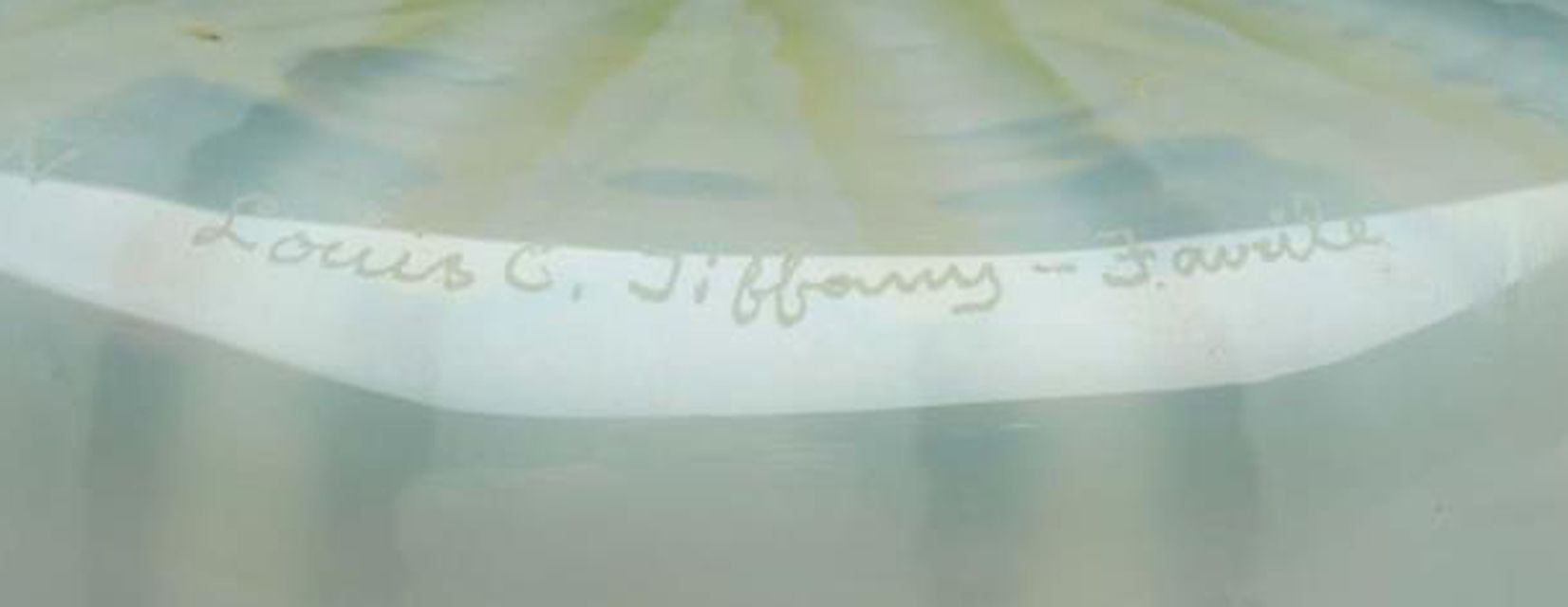 Louis C. Tiffany - Favrile Mark