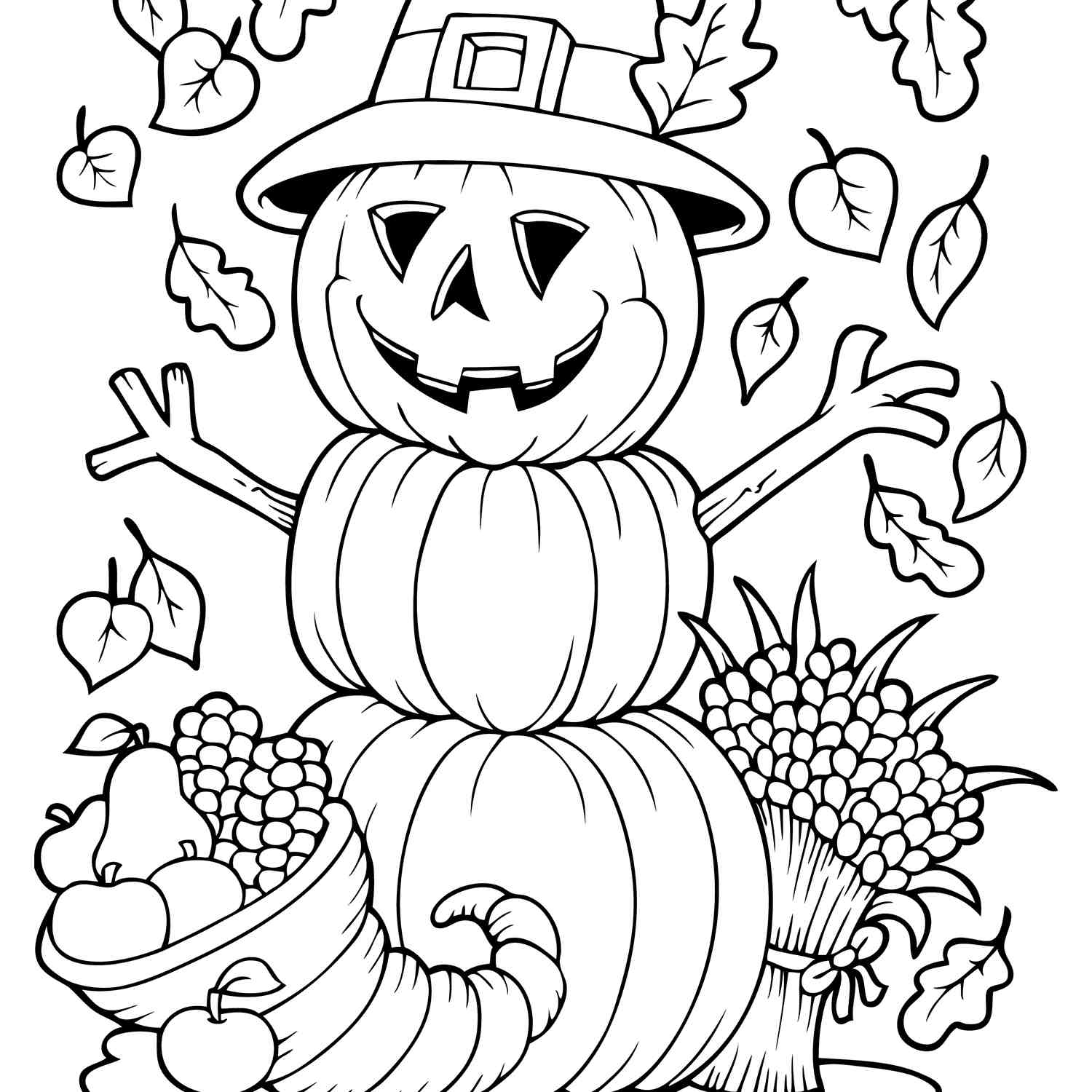free coloring pages for kids to print out secret fall.html