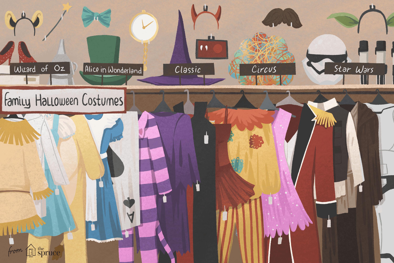 62dd28ab8 31 Fun DIY Family Halloween Costume Ideas