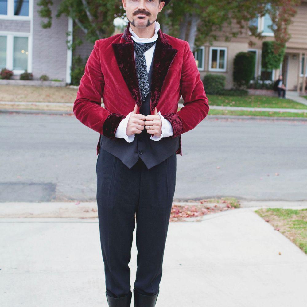 DIY Ringmaster Costume