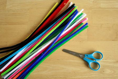 craft supply spotlight pipe cleaners