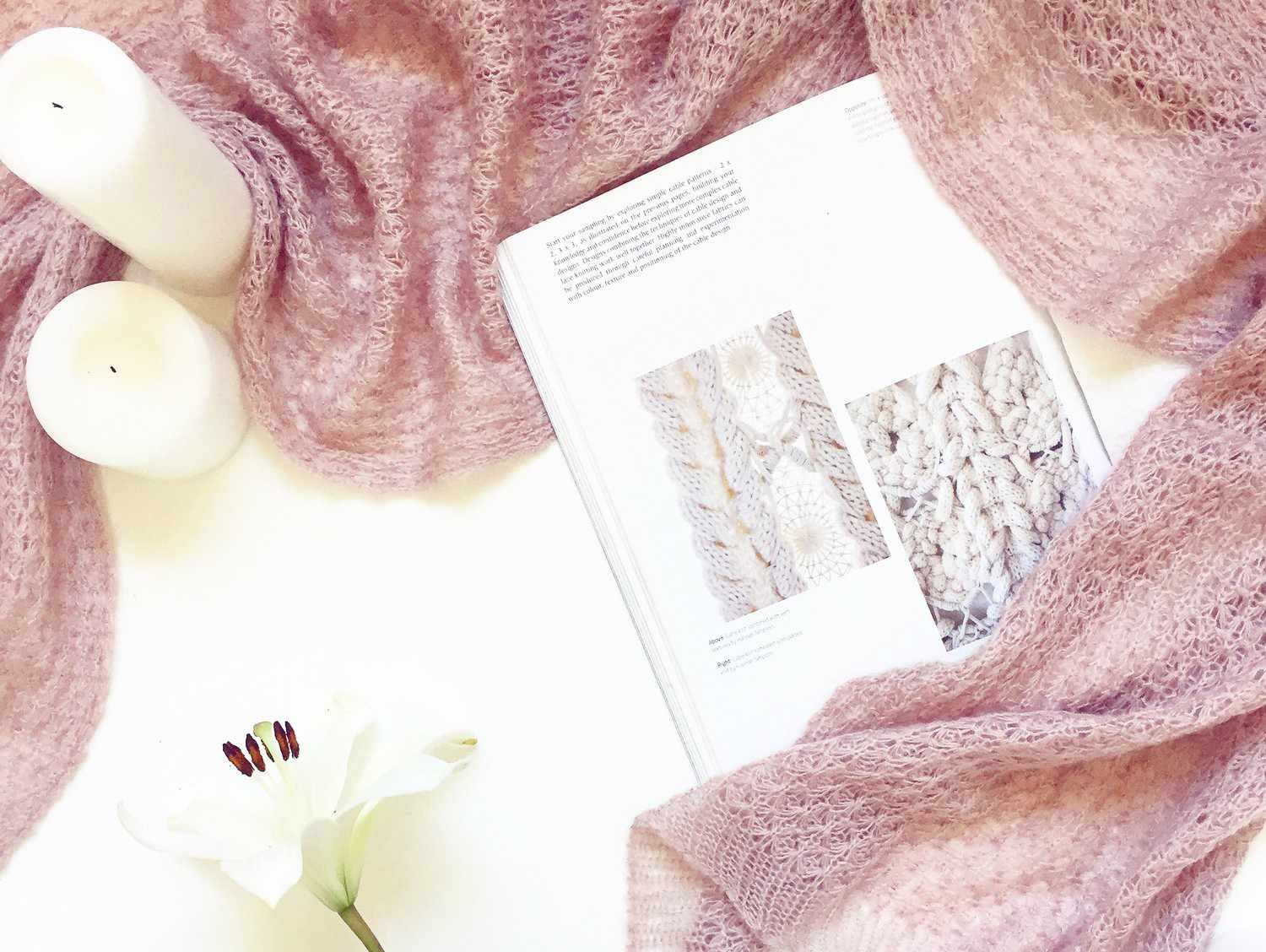 Blossom Dance Lace Scarf Pattern