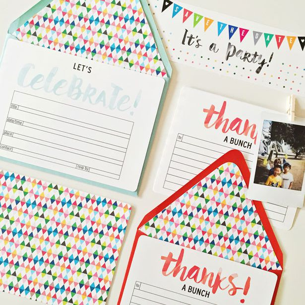 17 Free, Printable Birthday Invitations