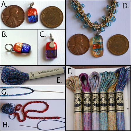 Beaded Crochet Necklace Step By Step Tutorial