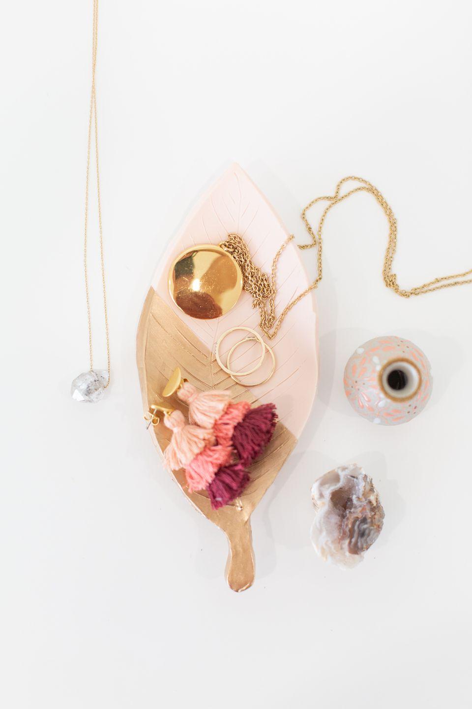 DIY Clay Jewelry Holder