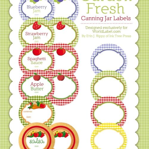 21 sets of free canning labels for jars a sheet of free canning jar labels maxwellsz