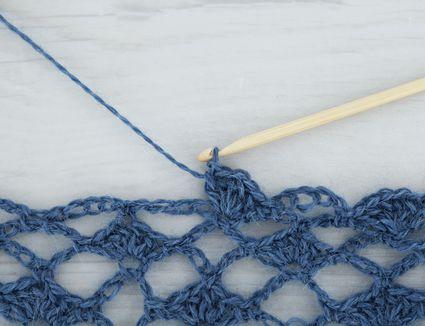 How To Crochet Brick Stitch