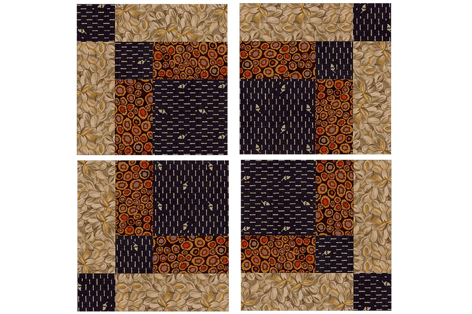 Bonnie Scotsman Quilt Block Pattern