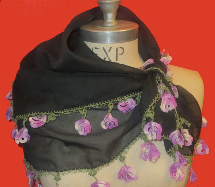 Turkish crochet rose free pattern