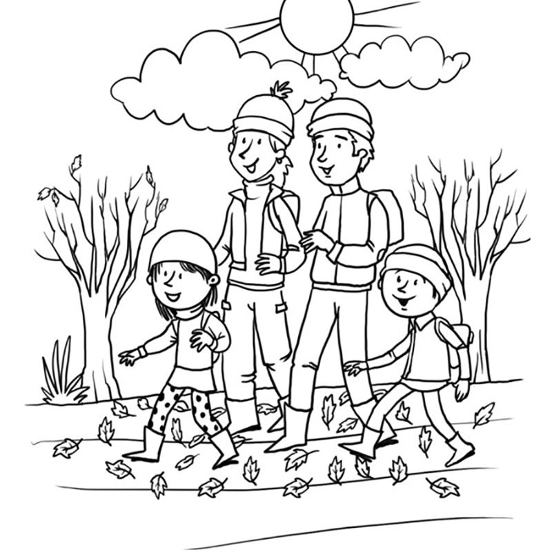 Coloring Sheets Printable Fall – Pusat Hobi
