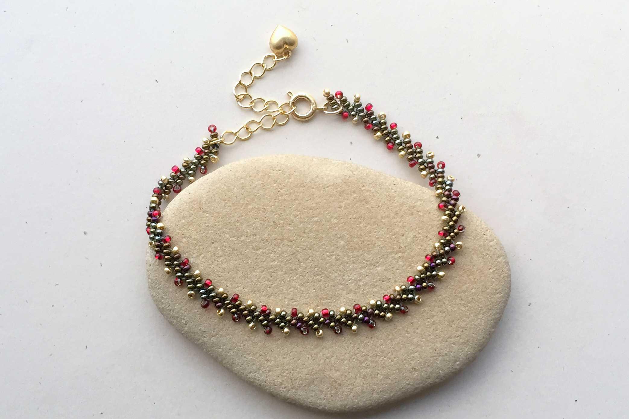 St. Petersburg stitch bracelet chain