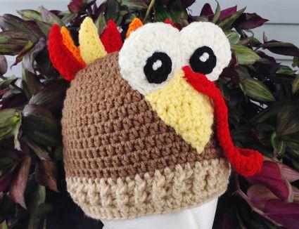 Turkey Hat FREE Crochet Pattern
