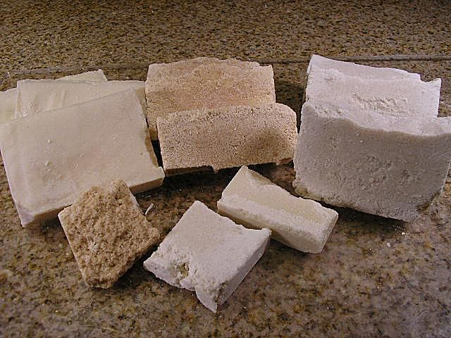 salt soap bars