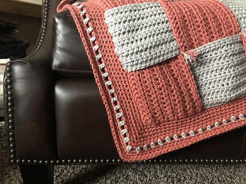 HDC Crochet Afghan Pattern