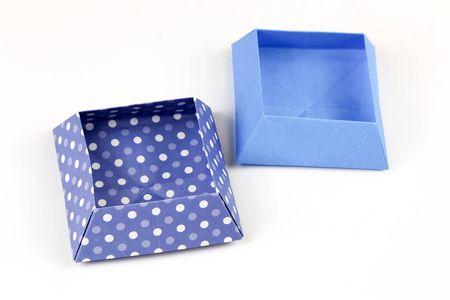 Make An Origami Square Snack Box