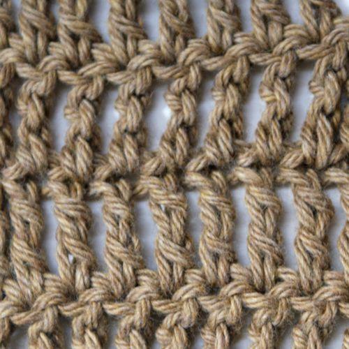 Treble Crochet Step By Step Tutorial