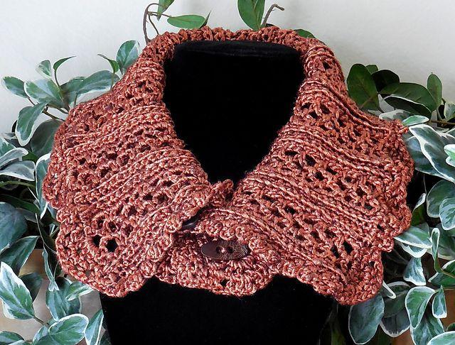 Thick Crochet Cowl Collar
