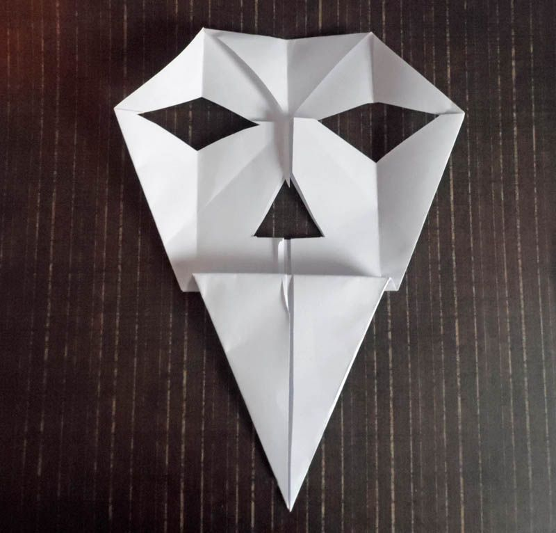 Origami Skull Instructions Easy Diy For Kids