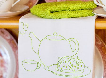 10 Teacup Inspired Hand Embroidery Patterns