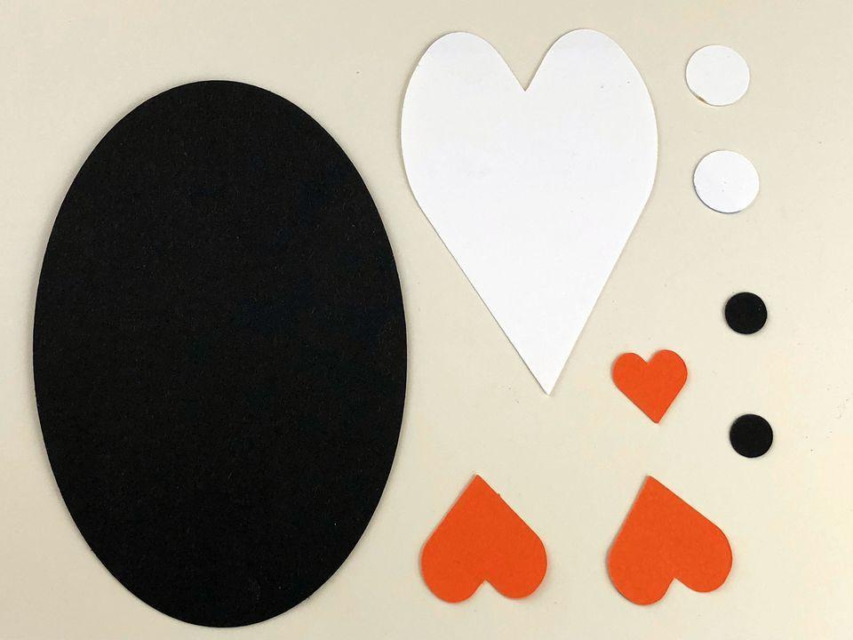 paper penguin parts