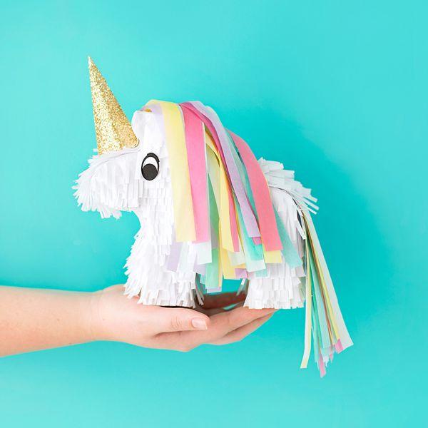 DIY Mini Unicorn Pinata