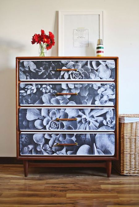10 Unique Ways To Decoupage A Dresser