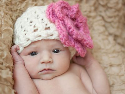 Make a Lacy Beanie Hat with a Free V-Stitch Crochet Pattern a2b70d4bd4f0