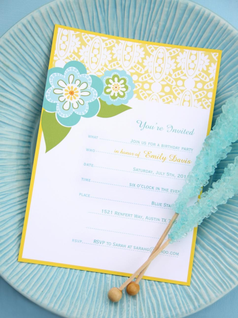 printable childrens party invitations