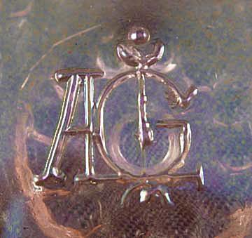 ALIG Imperial Glass Company Mark