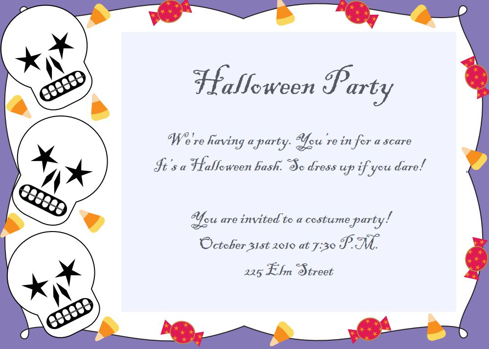 Halloween 4th Birthday Party