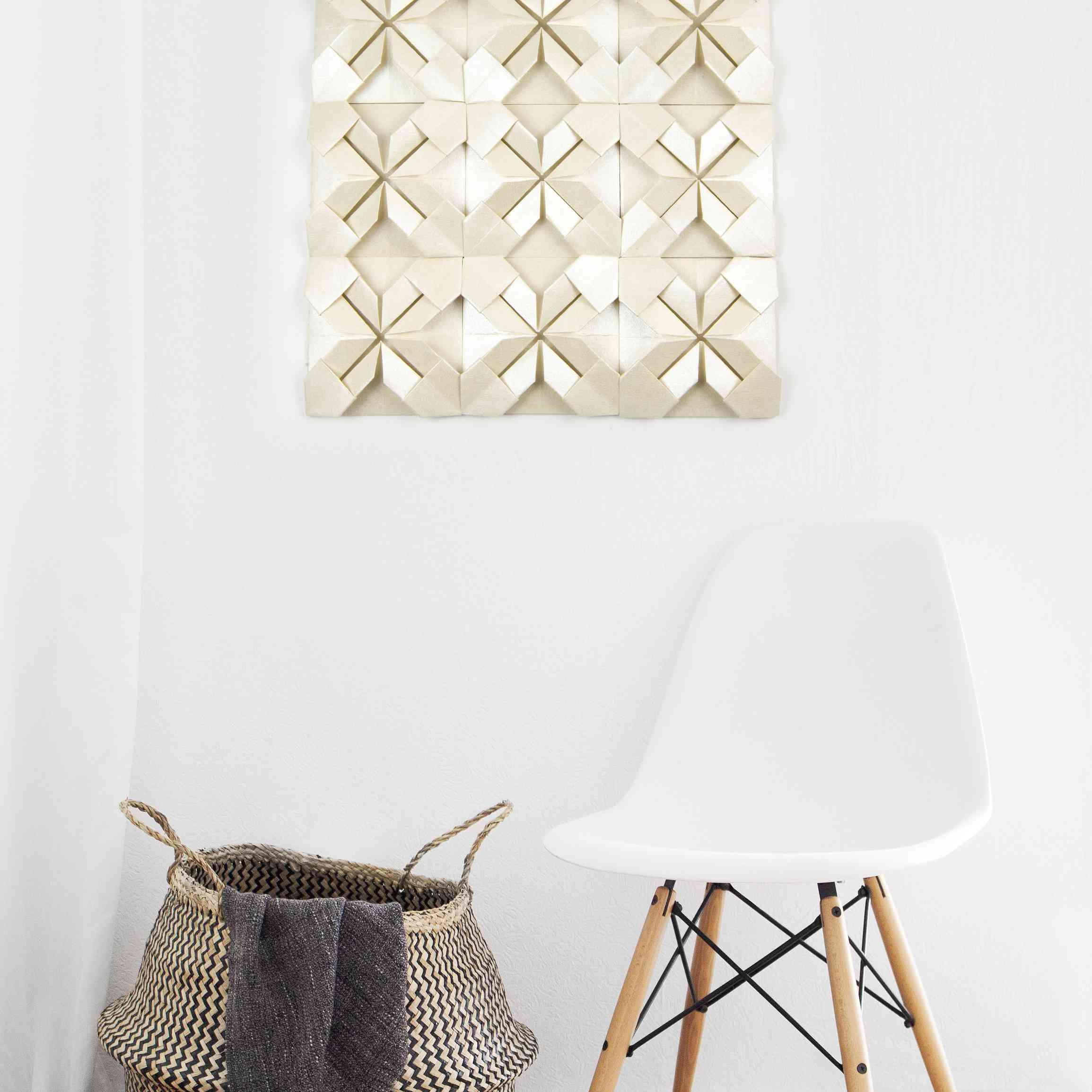Origami Quilt Wall Art