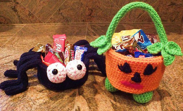 Kết quả hình ảnh cho Crochet Spider Candy Dish Free Pattern