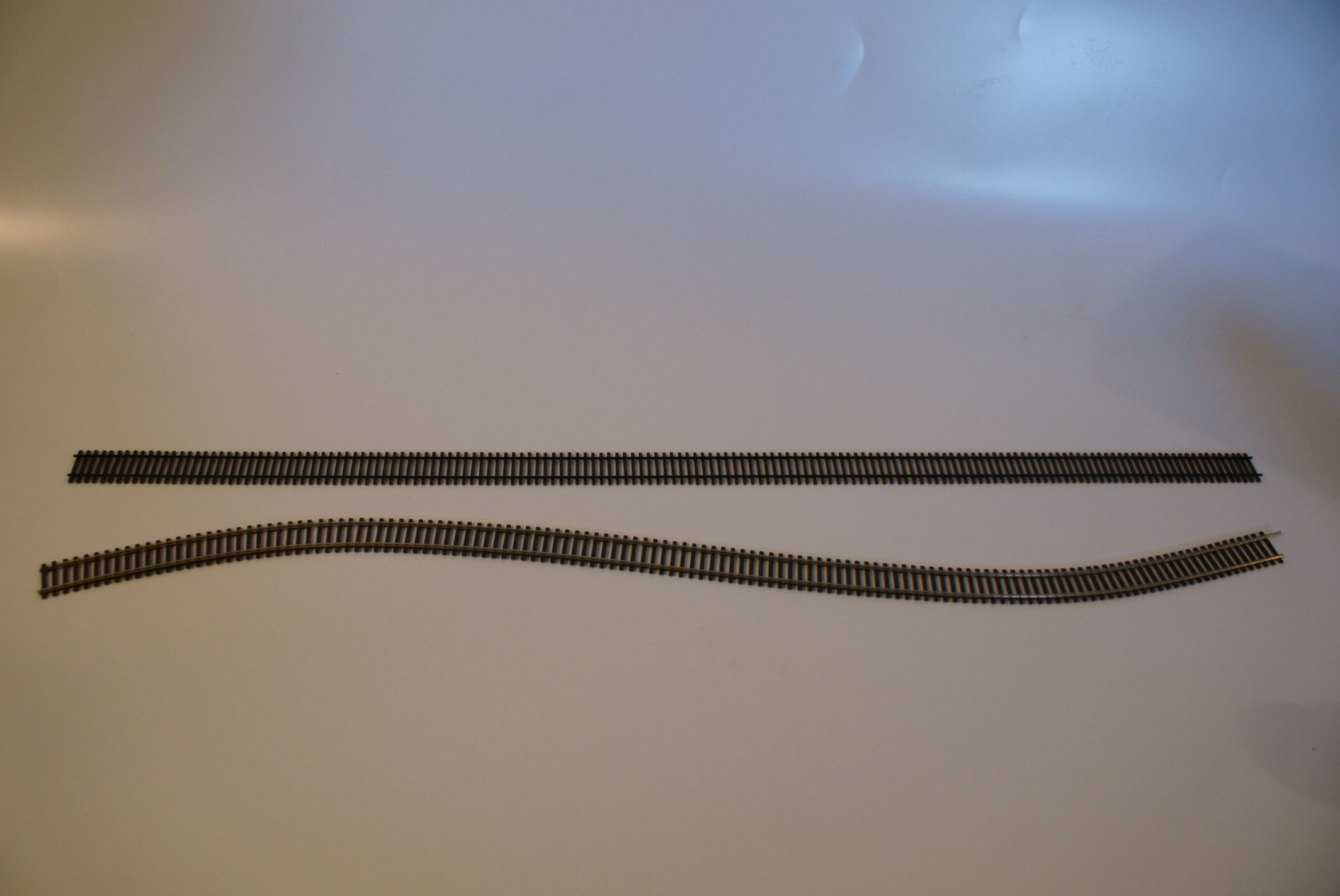 Model train flex track
