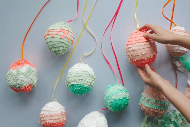 Paper Mache Easter Egg Piñata