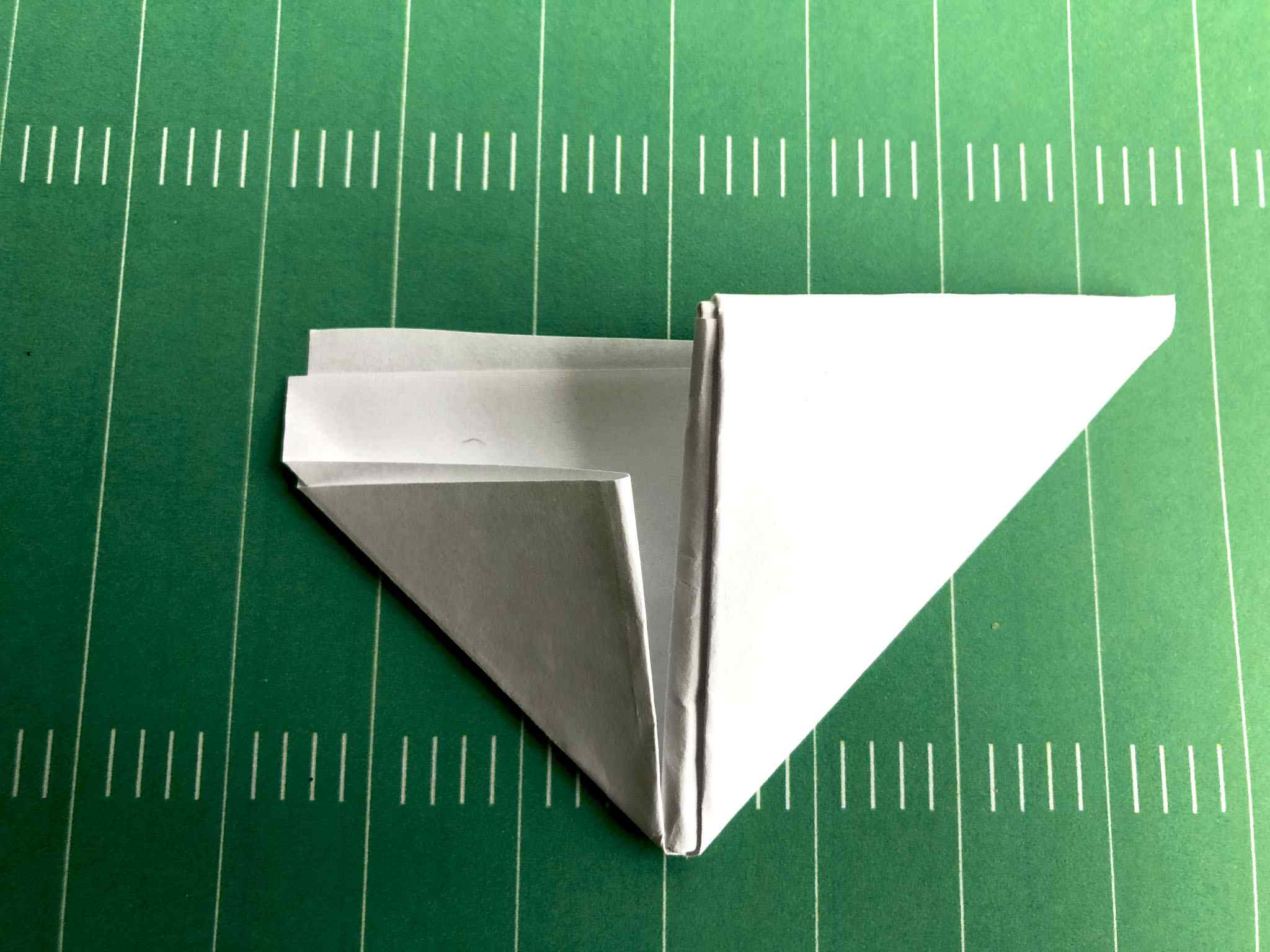 last football paper fold