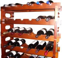 Wine Rack in use