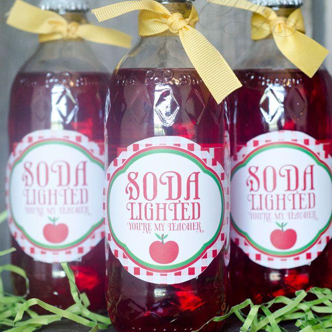 DIY Soda Teacher Gift