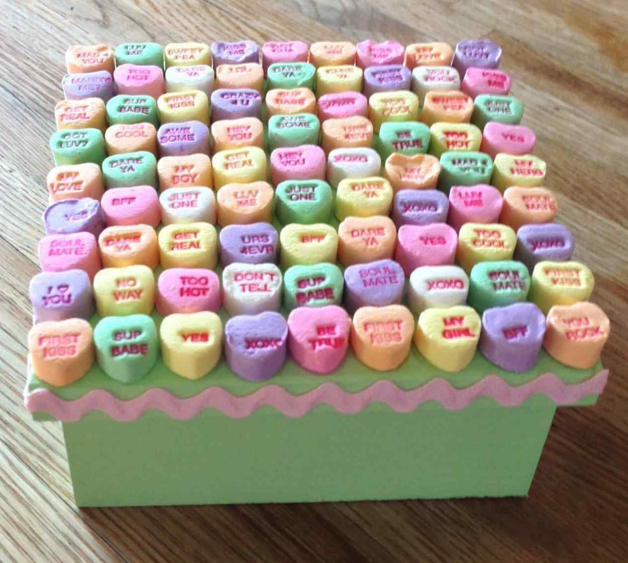 Candy Heart Box