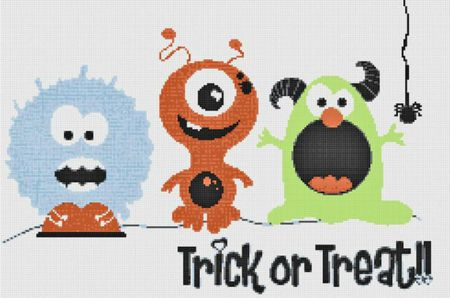 10 Halloween Cross Stitch Patterns