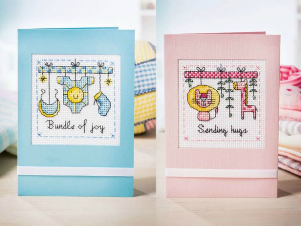 Baby Cross Stitching