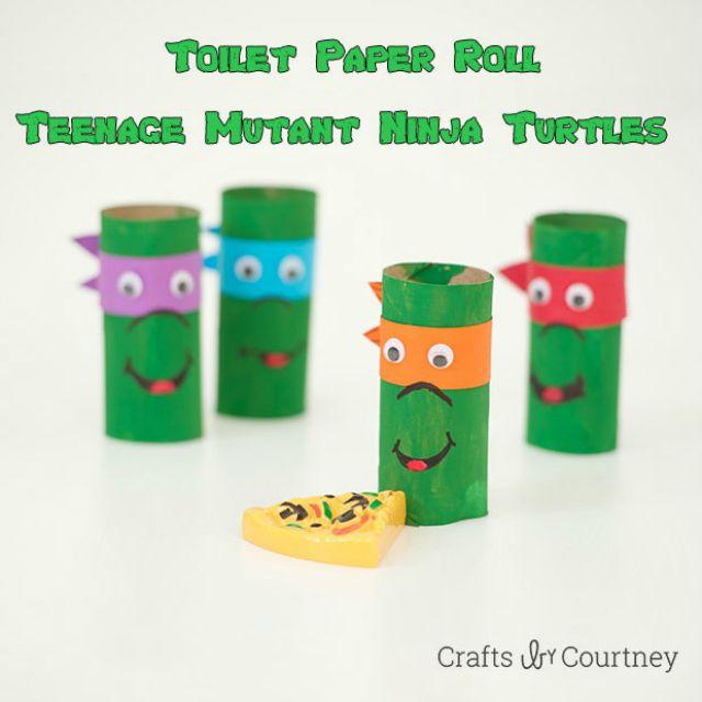 Paper roll TMNT
