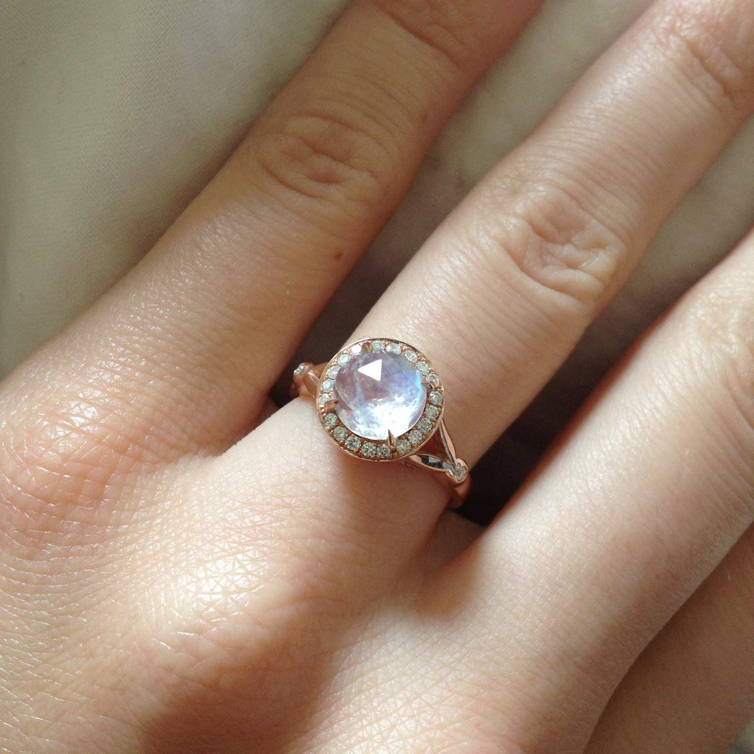 Moonstone Meaning And Facts Can Make An Engagement Ring Alternative