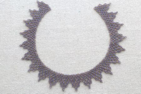 African Netted Beaded Lace Necklace Tutorial Gorgeous Beaded Necklace Patterns