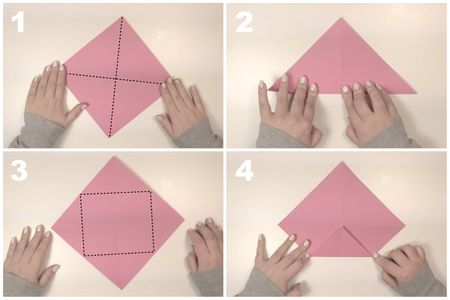 Origami Rectangular Box Instructions
