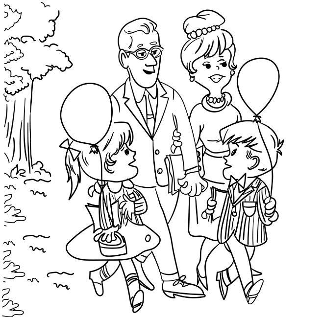 Mom Junctions Free Grandparents Day Coloring Pages