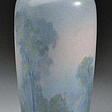 Rookwood Scenic Vellum Vase