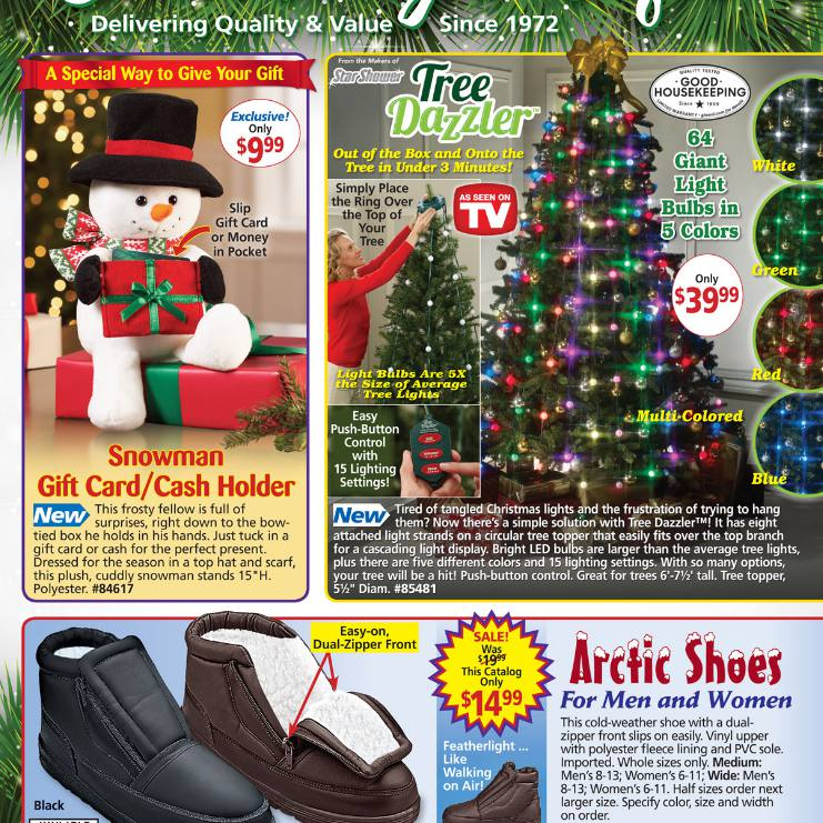 Carol Wright Gifts Catalog