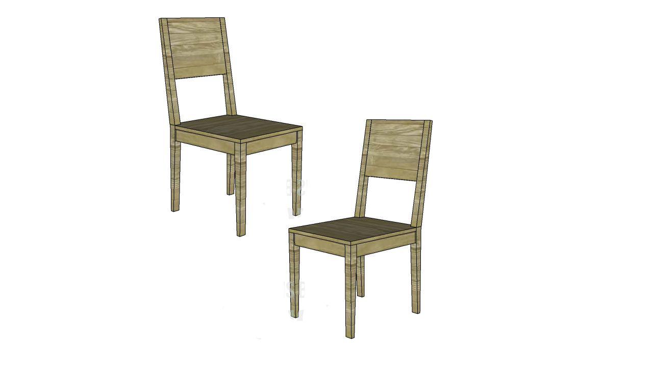 DIY Tradesman Dining Chair