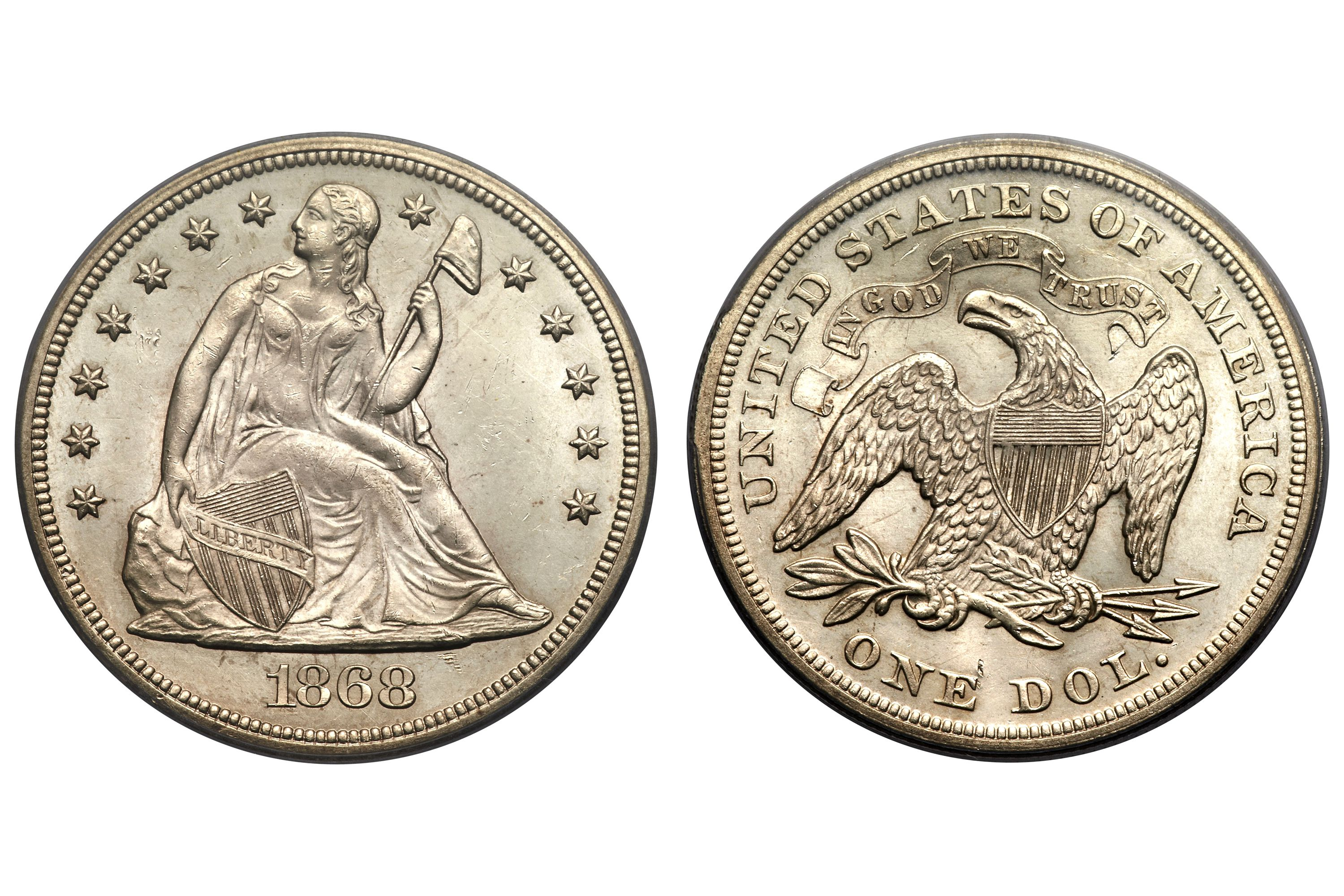 Seated Liberty Silver Dollar Values And Prices