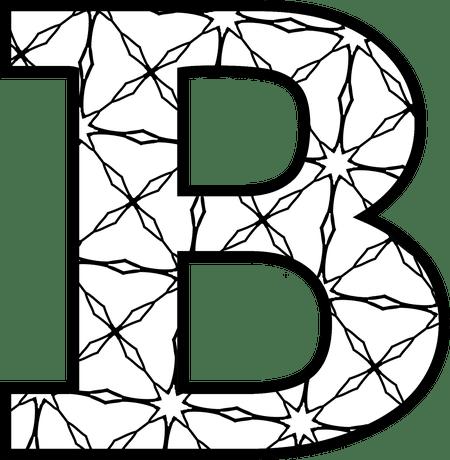 printable letter b